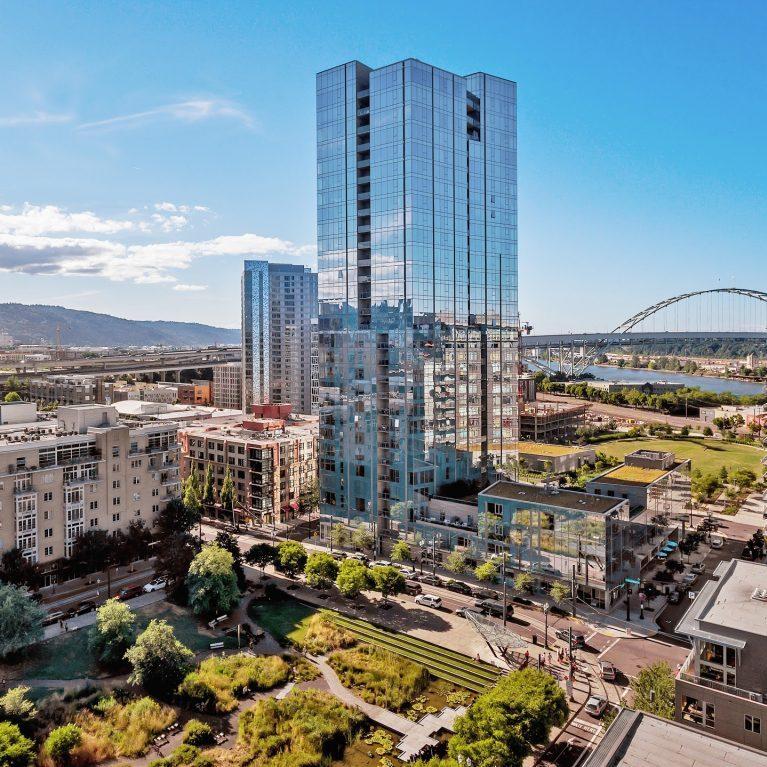 Ariel View of the Cosmopolitan Condominiums